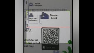 cara scan barcode lokasi
