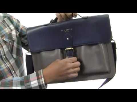 Ted Baker - Harlemm Mixed Leather Satchel SKU:#8233737