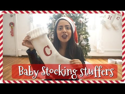 What's in My Baby's Stocking!