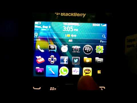 Cek PIN & IMEI  Blackberry OS 7