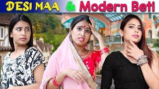 Desi Mom aur Modern Beti | #Pankhuri | Maa vs Beti | SBabli