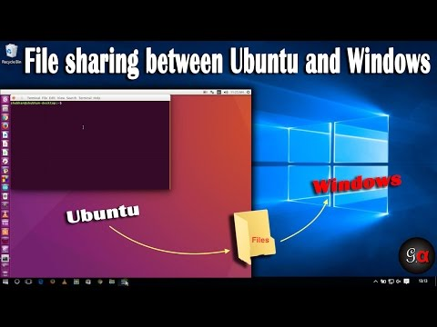Share files between Linux (Ubuntu - 16.04) and Windows 10/8.1/7 (32bit/64bit)