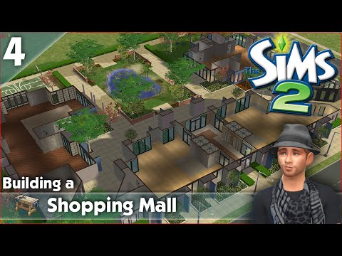 Building a Shopping mall in The Sims 2 - Part 4