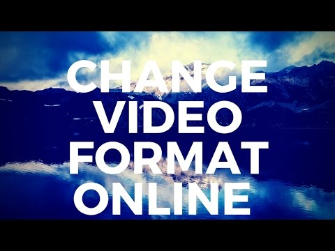 How to Change Video Format Online for Free