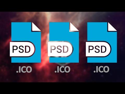 Photoshop: Aprende Como Guardar En Formato .ICO Tutorial