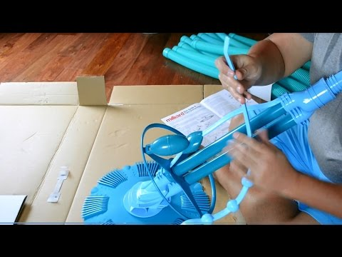 Milliard Automatic Pool Vacuum - Product Review - Assembly