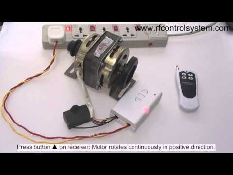 How to run ac capacitor start motor forward and reverse?