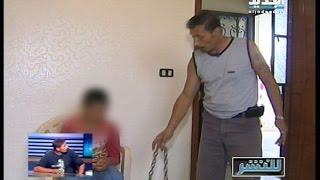 للنشر : أب يحوّل ابنه الى معتقل للتعذيب