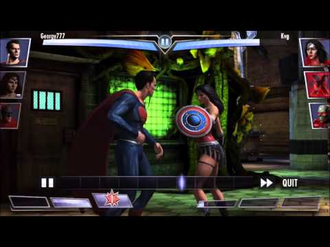 Injustice: Gods Among Us - NEW Dawn of Justice Batman, Superman and Wonder Woman Gameplay