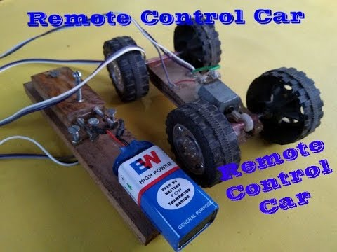 How to make a simple remote control car home made @@ chintan panchal