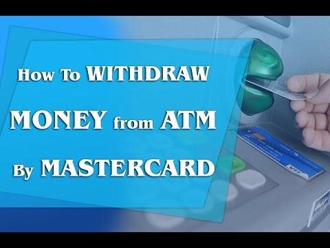 How To Withdraw Money From ATM by MASTERCARD | Ultimate guide | by 19designers