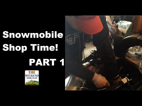 Snowmobile Maintenance - Getting ready for the Season