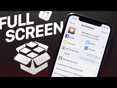 iOS 11 Jailbreak: Full Screen Cydia on iPhone X!! (Top Tweaks of the Day)