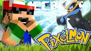 Minecraft | Pokemon | THE STARTER GYM BATTLES!! [8]
