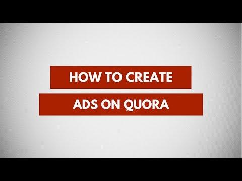 How To Create Quora Ads | Quora Advertising To Increase Website Traffic, Conversions, App Installs