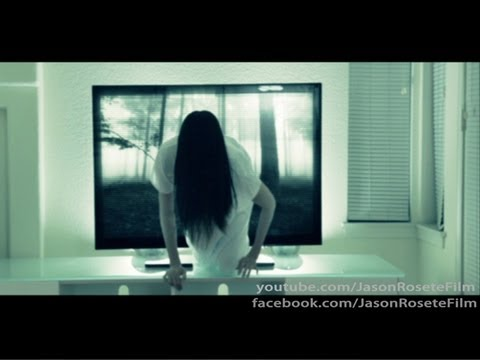 SCARY MOVIE PRANK (THE RING GRUDGE FUNNY GHOST)