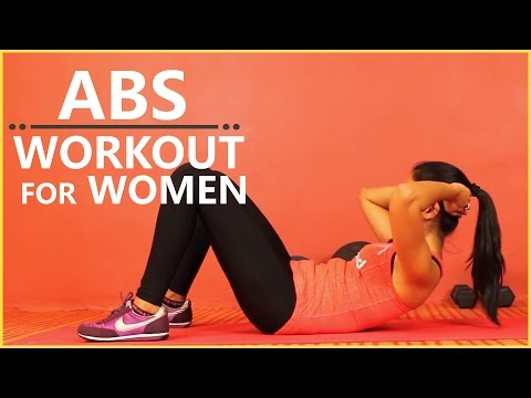 Best ABS Workout For Women | Upper & Lower Abs Exercises