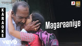 Pon Manickavel - Magaraaniye Karaoke | Prabhu Deva | D. Imman