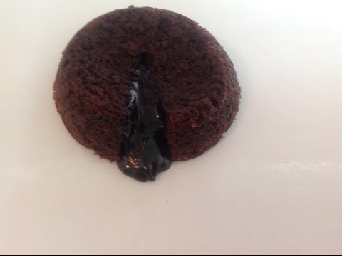 EGGLESS LAVA CAKE-How to Make Lava Cake Without Eggs