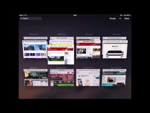 iOS 8: Safari's new features on iPad