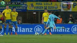 هدف ميسي الجميل على لاس بالماس الذي لايصد | الدوري الإسباني |  1-3-2018 | HD