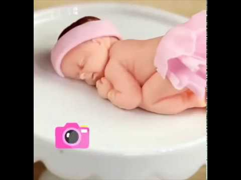 How to make cute baby with clay