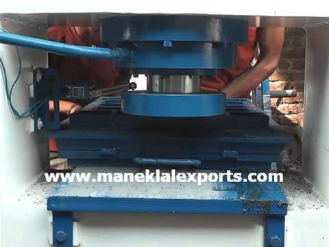 Manek - Hydraulic Tile Press for Cement & Mosaic Tiles Model: HTP-80