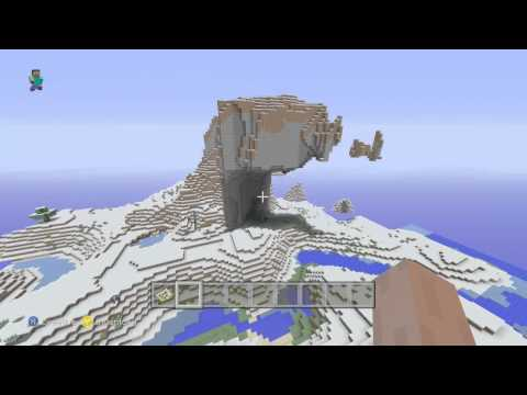Minecraft Xbox 360 Seed - All Snow Biome