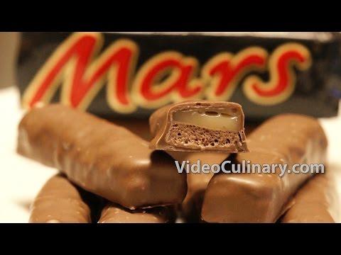 Homemade Mars Chocolate Bars Recipe - VideoCulinary.com