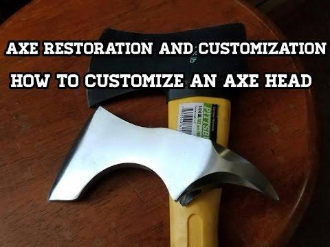 Old Axe Restoration - Viking Axe Customization