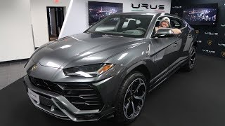 Say Hello to The FIRST LAMBORGHINI URUS IN THE UNITED STATES!!! Urus In depth REVIEW!