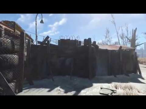 Fallout 4 Penn's Hunter Shack settlement