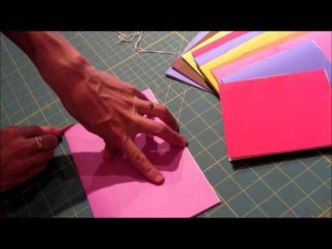 Super Simple Book Stitch Tutorial