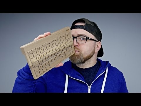 A Keyboard Made Of Wood?