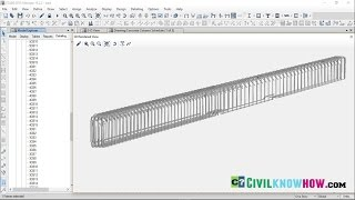 ETABS 2016 Design of Reinforced Concrete Frame (Column