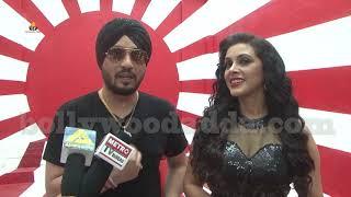 Dilbagh Singh & Mansi Dovhal At On Location Shoot Of Film Shaadi Abhi Baaki Hai