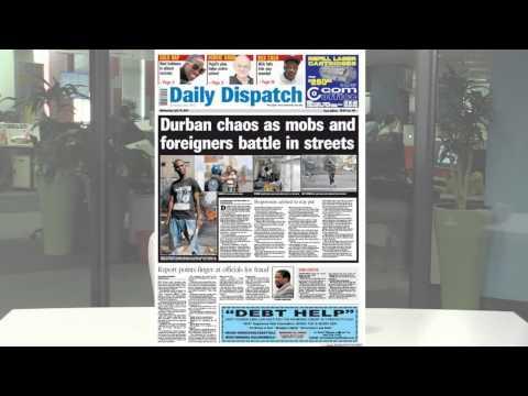 Newspaper Headlines 15 April