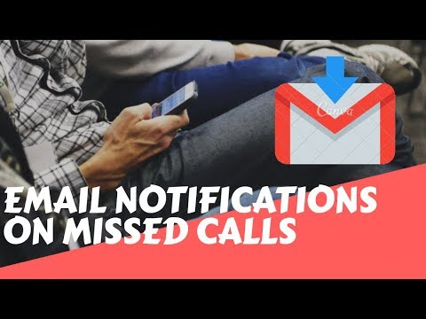 Email notifications on missed calls while phone was off or had no service
