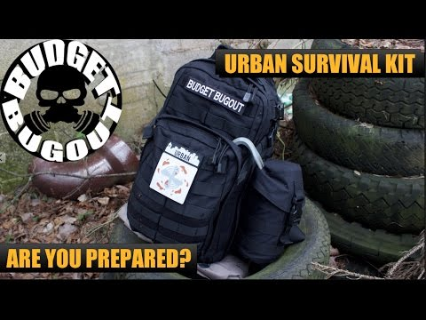 Urban Survival Kit / Bug Out Bag | Build Your Own Best Disaster / Zombie Survival Kit! Budget Bugout