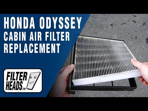 How to Replace Cabin Air Filter Honda Odyssey