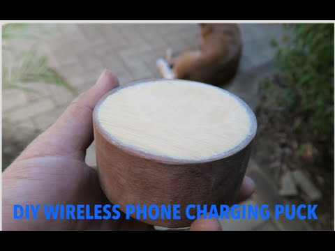 DIY Wood Wireless Charger