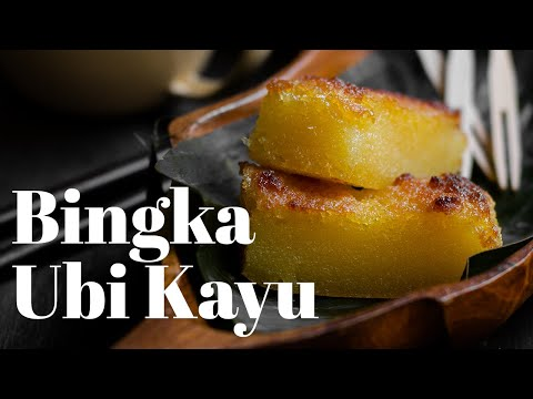 Tapioca Cake / Bingka Ubi Kayu