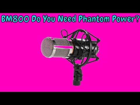 BM800 Sound Test Without Phantom Power: YOU DON'T NEED PHANTOM POWER!