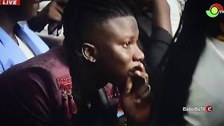 The Moment Stonebwoy was Announced 2019 VGMA Reggae Dancehall Artiste of the Year