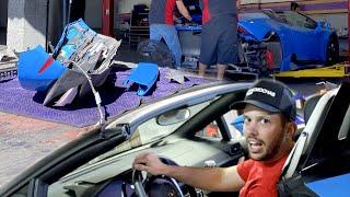 Goodbye Blue Lamborghini..