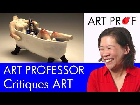 Art Critique: Mixed Media Ceramic Sculpture / ART PROF