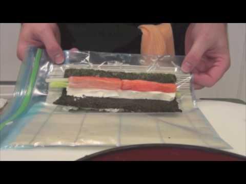 How To Make A Cream Cheese California Roll