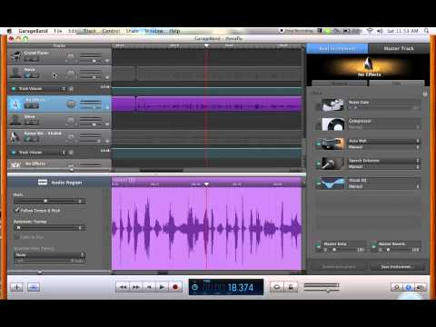 How To Get Better Sound Quality/ Mix Vocals On Garage Band Tutorial