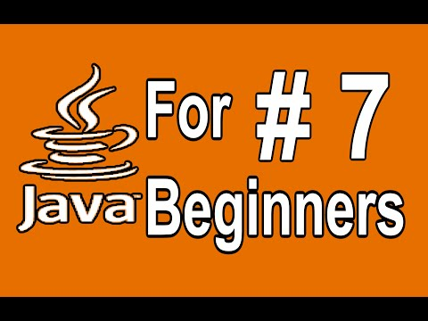 7 . Java User Input in with Scanner - Java Programming Tutorial For Beginners
