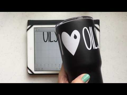 Personalize Your Stainless Steel Tumbler Using Cricut